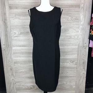 Clifford & Wills Backless Metal Clasp Mini Dress